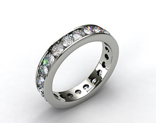 Ladies 1.50ctw* Milgrain Channel Set Diamond Eternity Ring