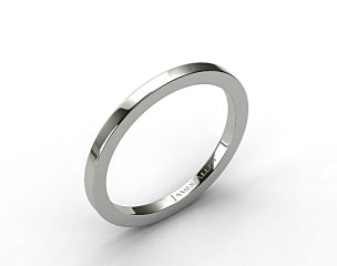Platinum 1.8mm High Polish Wedding Ring
