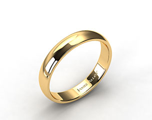 14k Yellow Gold 5.0mm Low Dome Wedding Ring
