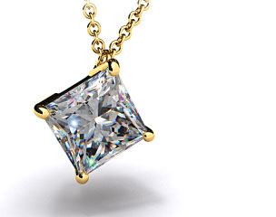 18k Yellow Gold 0.25ct Diamond Pendant