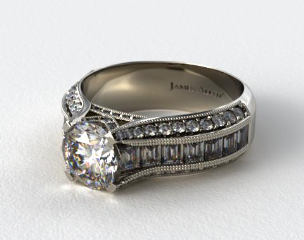 Platinum ME124 by Danhov Designer Engagement Ring