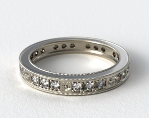 Platinum James Allen Exclusive Wedding Ring