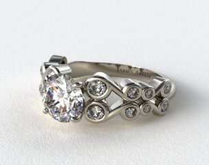 James Allen Exclusive Engagement Ring