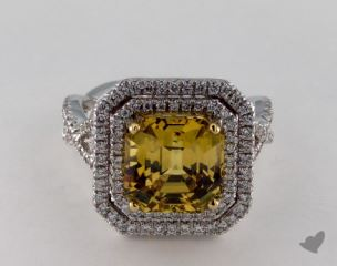 14k two tone - 6.26ct  - Yellow