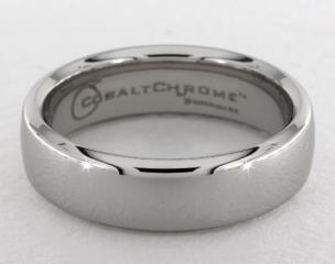 Cobalt chrome™ 6.5mm European Comfort-Fit™ Design Ring