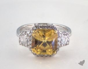 14k two tone - 5.41ct  - Yellow